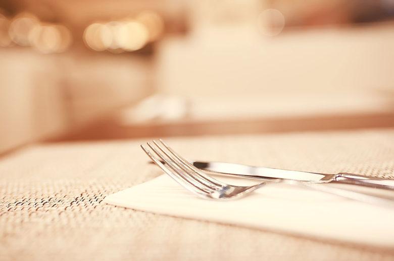 Posate a ristorante