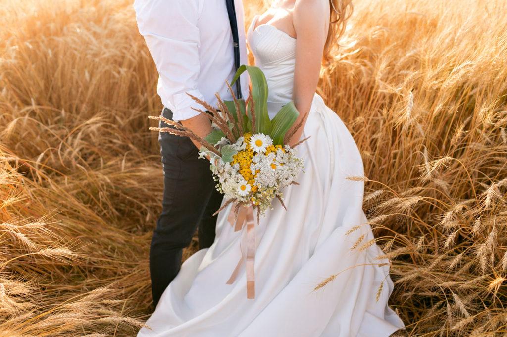Sposi in campagna