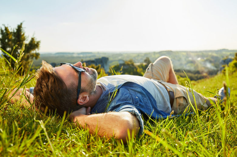 vacanza rilassante in campagna