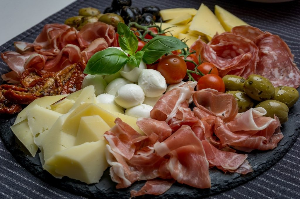 antipasti tipici dell'Emilia-Romagna