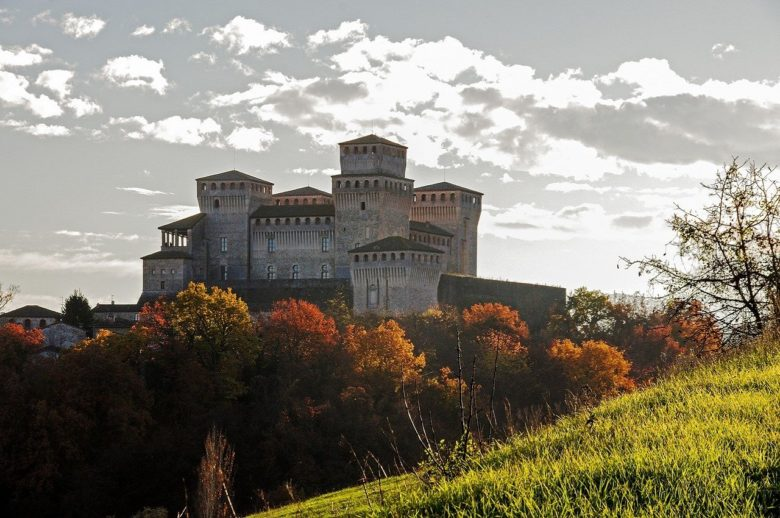 castelli in provincia di Reggio Emilia - castello di Torrechiara